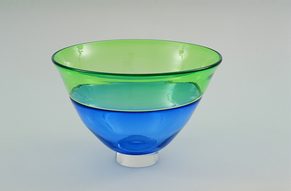 Blue-Green Incalmo Bowl